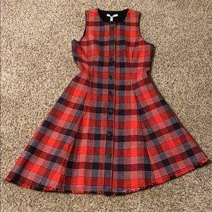 Derek Lam 10 Crosby plaid button-down dress
